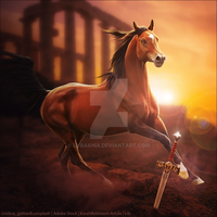 HEE Horse Avatar | Xena by LargestBirdie