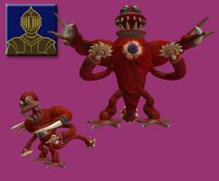 Spore Races - Knight by Monster-Man-08