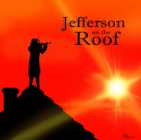 Jefferson on the Roof by Techta