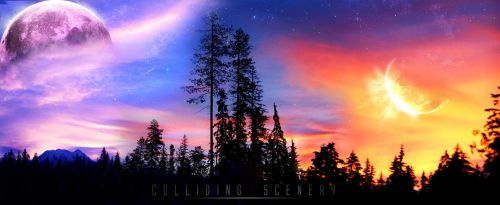 Colliding Scenery by ItsSuperSam