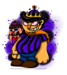FNAF World- Prince Brow Boy by TheLooneyCharboa
