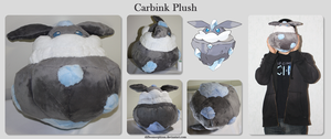 Carbink Plush by Diffeomorphism