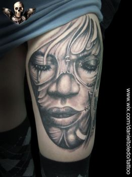 Black n Grey By Daniel Toledo by toledotattoo