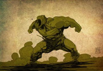 The Incredible Hulk by PatBoutin