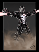 Iron Man Iron Punisher Variant by BouncieD