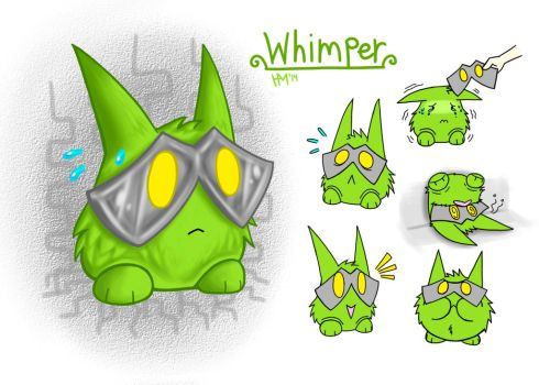 Whimper the Crybaby by atomiccatz