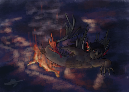 MerMay [2]- Infernos Disare by CuriousDragonChild