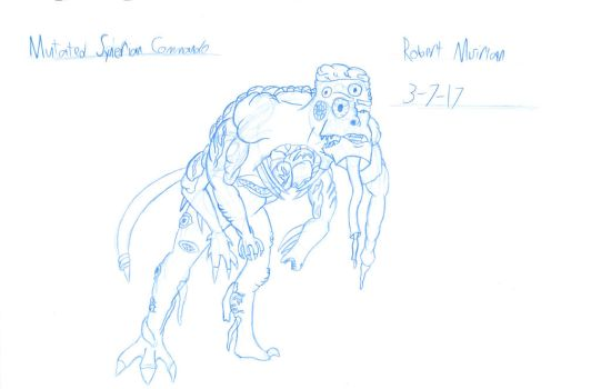 Mutated Synerian Commando by RobertMisirian