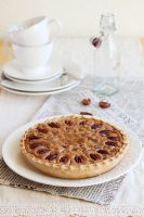Orange chocolate pecan pie by kupenska