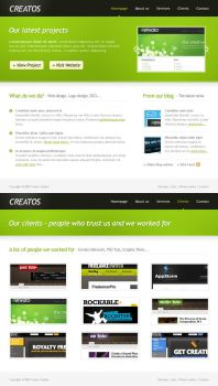Creatos - clean + fresh for TF by ilove-2-design
