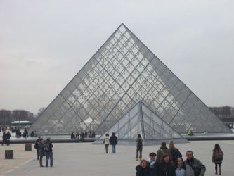 Musee du Louvre by Spikeasaur