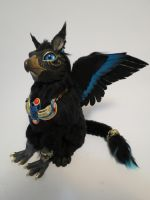 Egyptian Griffin by kimrhodes
