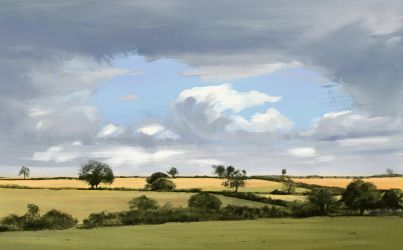 Landscape study by Thuberchs
