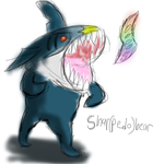 Mega Sharpedo by ChromeFlames