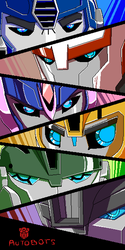 Autobots ROLL OUT by DJaimon