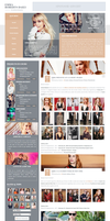 Emma Roberts Daily | WordPress Theme by BrielleFantasy