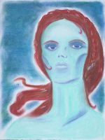 Androgyne Blue by KeiBlackthorne