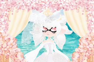 .:: Ivory By Seaside ::. +Speedpaint by OpalesquePrincess
