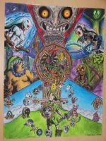 Power of the Masks (Majora's Mask) by partyboy3543