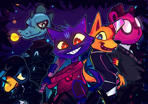 Night in the Woods by Dinzeeyz