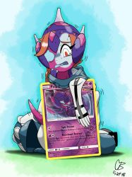 A Little Situation (Pokemon Card Poipole tf) by BoooooyahX