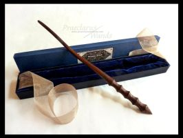 Handmade Wand ''Circuit Labyrinth'' by PraeclarusWands