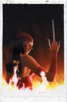 Elektra 28 Cover by mikemayhew