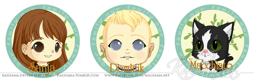 Family tree commission addons by Kalisama