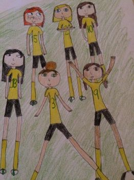 Female Lancers' Soccer Team by MSExperience