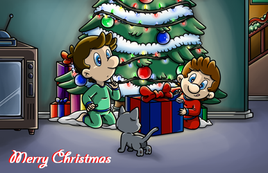Merry Christmas 2014 by Nintendrawer