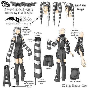 Costume Design - WyngStrypez by Niki-UK