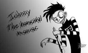 Johnny the homicidal maniac - Fanart by Soranosuke-J-A