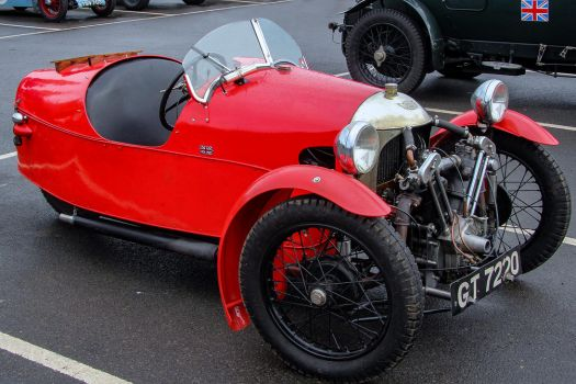 Morgan Three Wheeler by Daniel-Wales-Images
