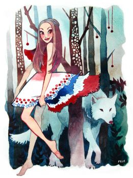 Red riding hood. by primiita