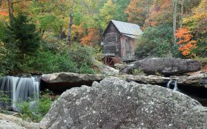 Glade Creek Grist Mill by Blueeyes0001