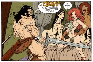 tnt conan by rogercruz