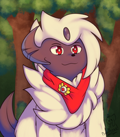 Leiko the Absol by Deathxael