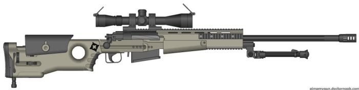 J96 Sniper rifle by GunFreakFin