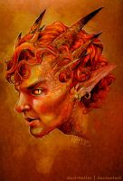 Smaug the Magnificent by Mad-Hattie