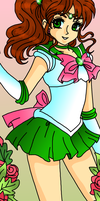 Sailor Jupiter by Sailor-Serenity