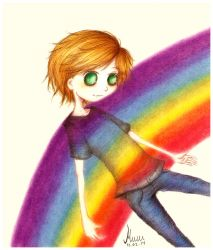 In Rainbows by muffinmimi