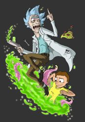 Rick and Morty by mjwills