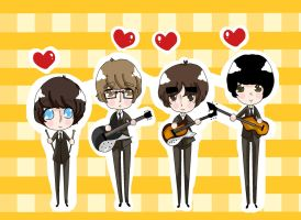 The Beatles by daisymcqueen