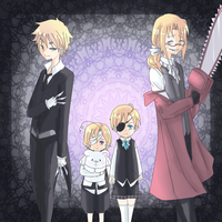 APH - black butler Xover by Mi-chan4649