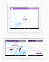 Sky Dive City - iPad, Tablet App. by fahd4007