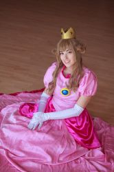Princess Peach-- Skirted About by Miss-Marquin