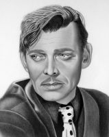 Clark Gable by dougstickney
