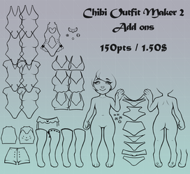 Chibi Outfit Maker 2 - Add On's by er-ro