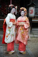 Naughty Maiko Girls by kimOSAKA