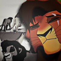 Simba+Kovu ICON by LionChanti